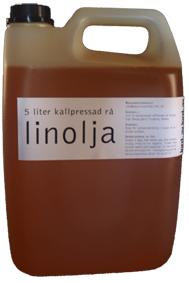 Rå kallpressad linolja 5 liter